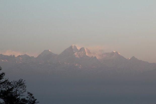 Travel in Nepal: Himalaya in morning light