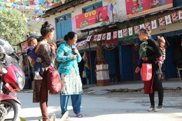 Nagarkot village women