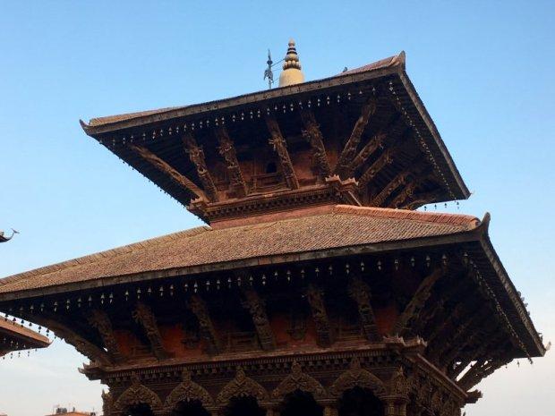 Pagoda on Patan Durbar Square
