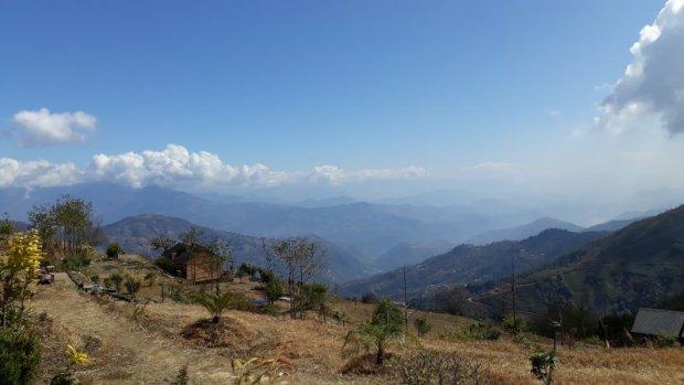Prakriti Resort Himalaya view