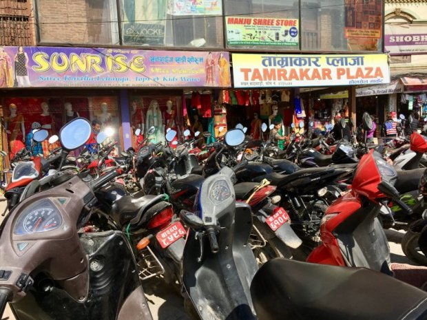 Kathmandu motor bikes