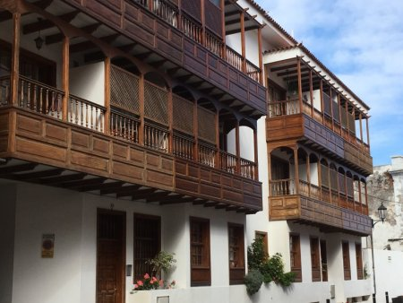 Garachico balconies, Tenerife