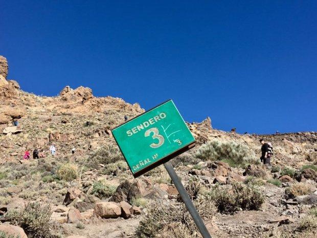 Hiking the Sendero 3, Roques de Garcia