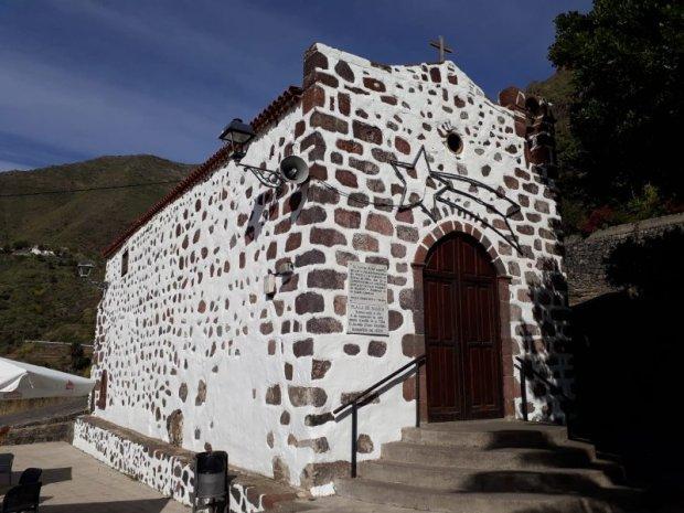 La iglesia de Masca, Tenerife