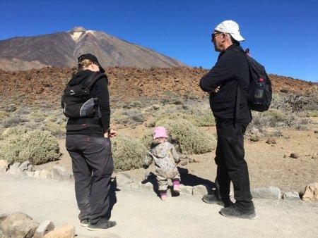 On the Roques de Garcia hike, Mount Teide