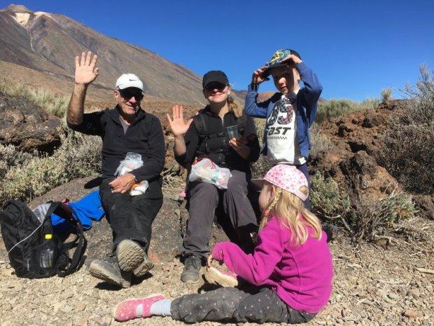 Roques de Garcia picnic stop, Mount Teide National Park