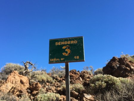 Sendero 3, Roques de Garcia