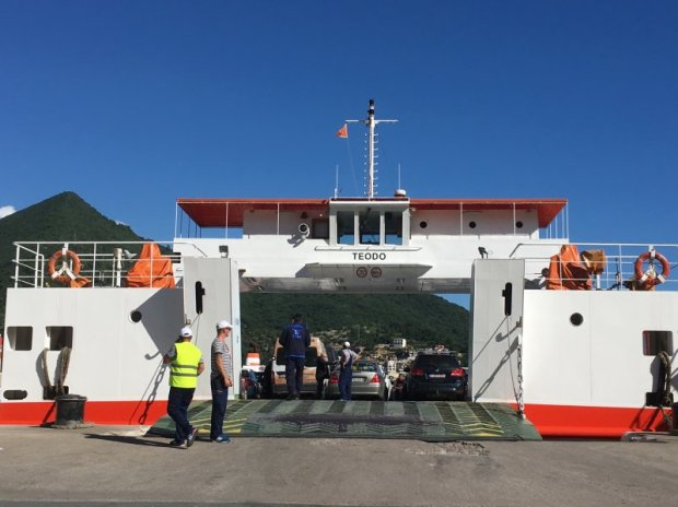 Bay of Kotor car ferry