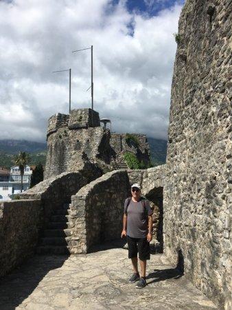 Visiting Herzeg Novi fortress