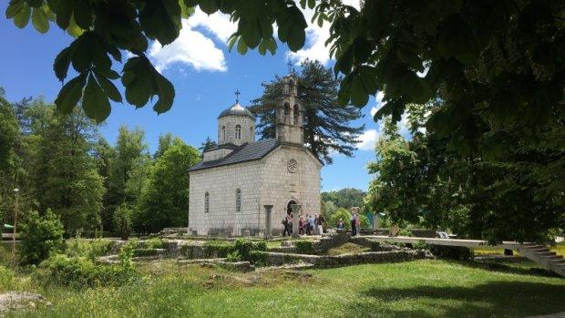 Cetinje Monastery church