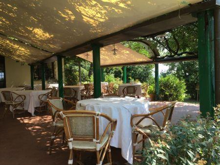 Villa Le Rondini dining hall