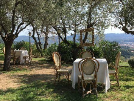 Villa Le Rondini garden