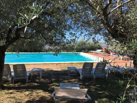 Villa Le Rondini pool, Florence