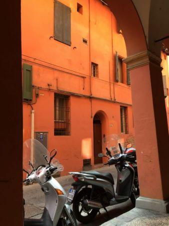 Strada Maggiore side street, Bologna