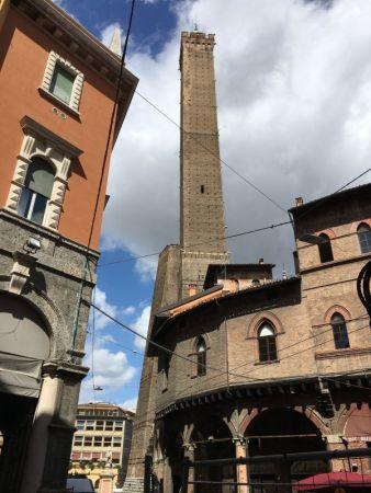 Torri Pendenti of Bologna
