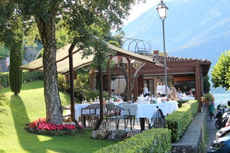 Bellaggio restaurant, Lake Como