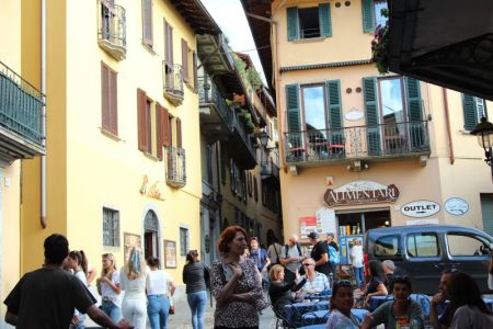 Bellaggio street view, Lake Como
