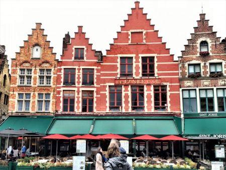 Bruges guildhouses