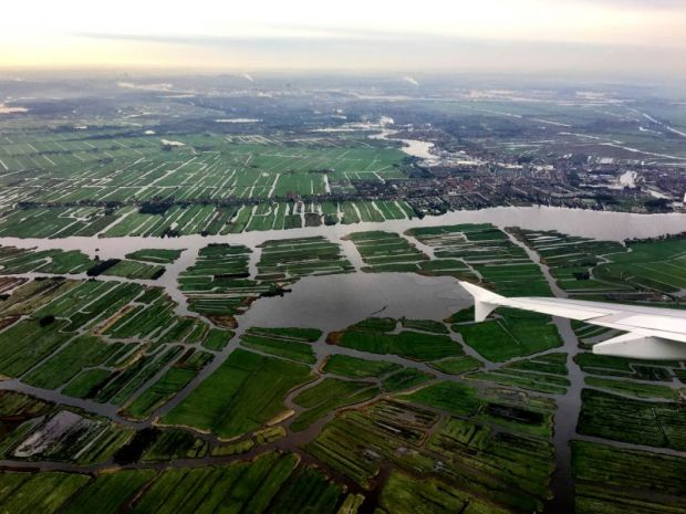 The man-made countryside of the Netherlands
