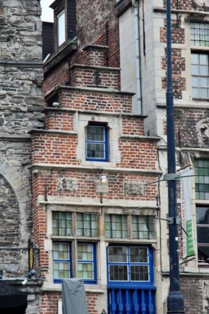 Canalside house, Ghent, Belgium