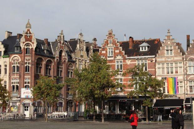 River cruising in Belgium: Ghent Vrijdag Markt