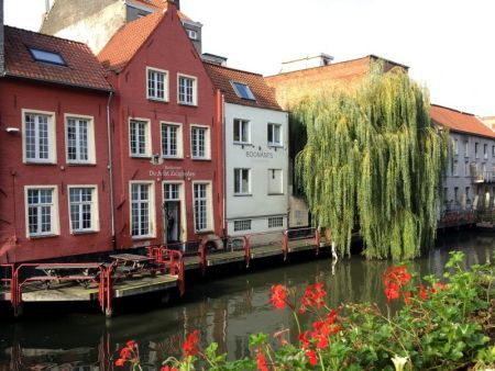 Ghent canalside