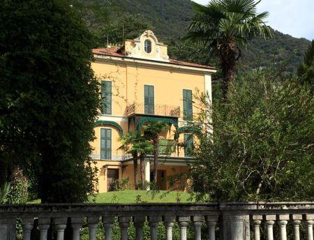 Greenway del Lago di Como: a Lenno villa