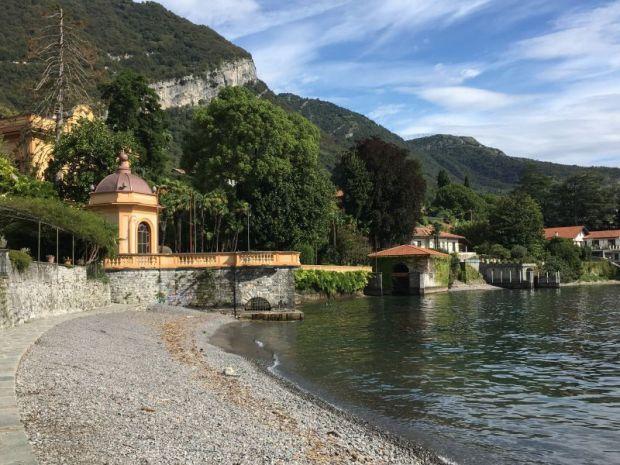 Greenway del Lago di Como: Lenno beach