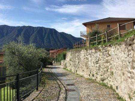 Greenway del Lago di Como walkway