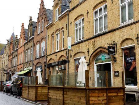 Ieper main street, Belgium