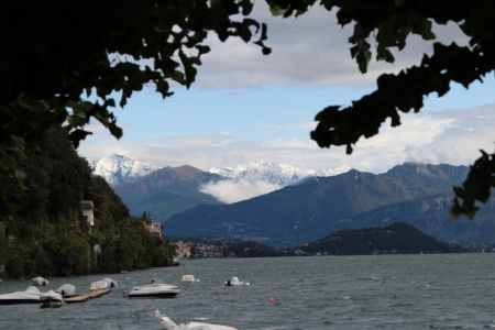 Lake Como Alpine scenery