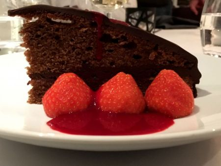 River cruising in Europe: dinner dessert