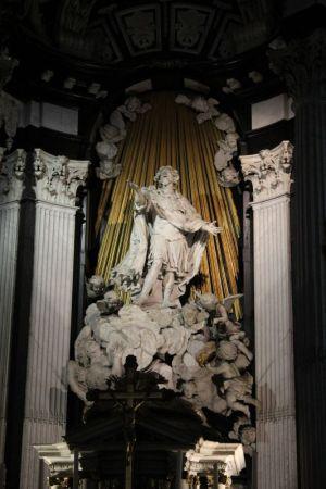 St Baafskathedraal statue, Ghent