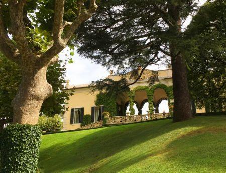 Villa Balbianello garden view
