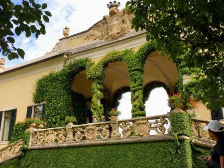 Villa Balbianello terrace