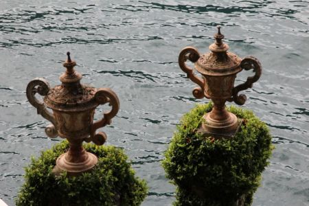 Villa Balbianello waterfront, Lenno, Lake Como