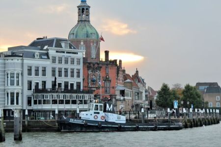 Dordrecht waterfront, Netherlands