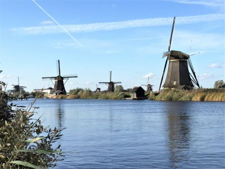 Kinderdijk Unesco listed windmills