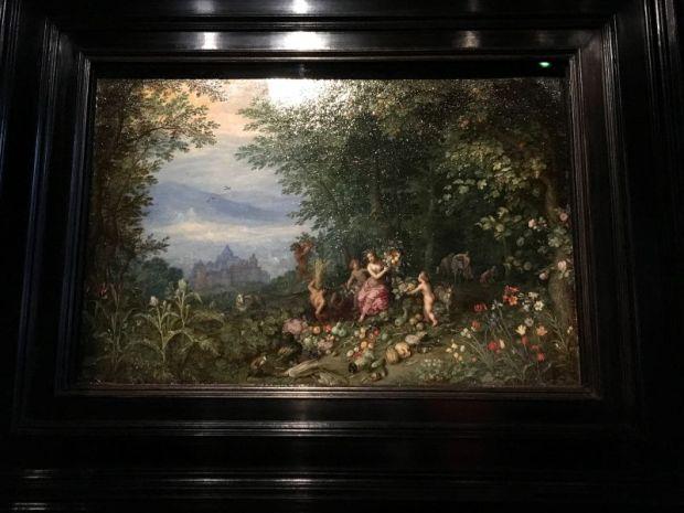 Painting in Rubens House, Antwerp