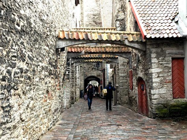 Katariina Kaik passageway, Tallinn Old Town