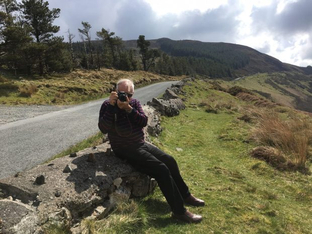 Photographing in the Wicklow Mountains, Ireland