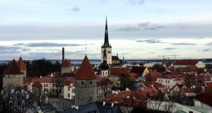 Tallinn Old Town from Toompea Hill