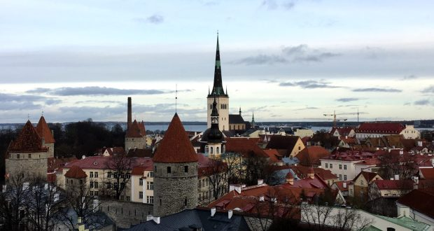 Tallinn Old Town from Toompea Hill