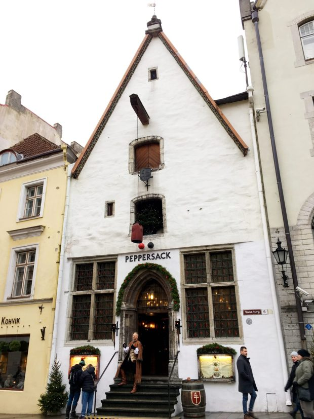 Tallinn restaurants: Peppersack