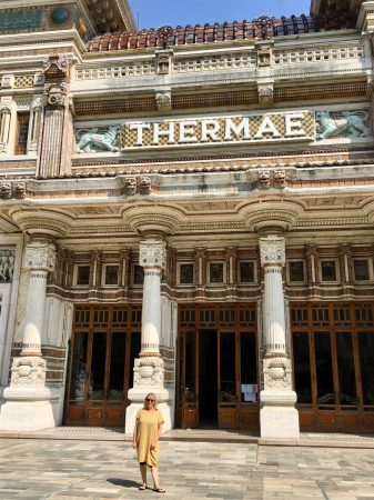 Baths of Salsomaggiore, Italy