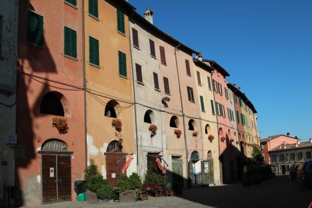 Brisighella, a pretty Italian village