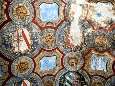 Rocca interior, Fontanellato, Italy