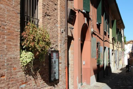 Street in Dozza, Emilia Romagna