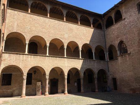 Visiting the Rocca di Fontanellato, Emilia Romagna