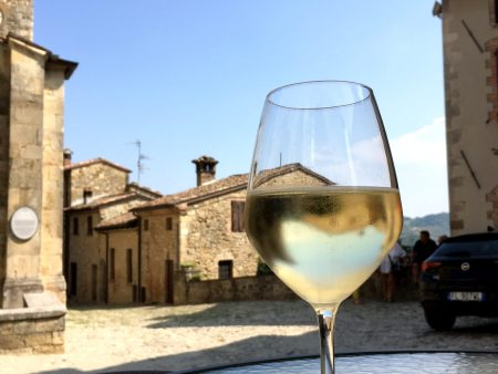 White wine in Italy's prettiest villages, Vigoleno